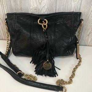 Juicy Couture Leather Crossbody Tassel Fringe